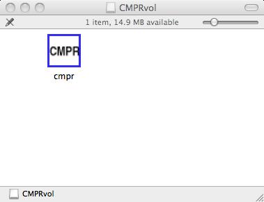 InstallOSX – CMPR - Powder Diffraction Analysis Software